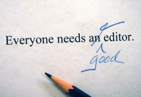 Editing in writing